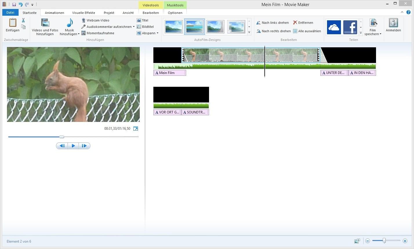 einfaches videobearbeitungsprogramm