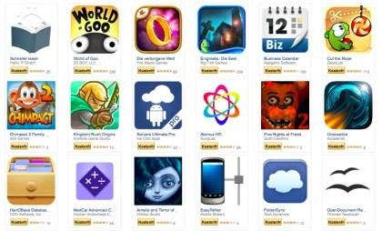 Amazon: Gratis-Apps März 2015