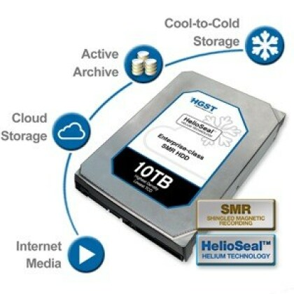 HGST 10 TB SMR Helioseal HDD
