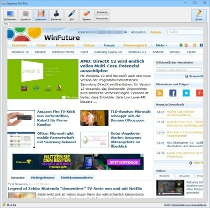 Snipping Tool Plus