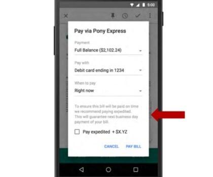 """Google """"Pony Express"""": Bezahldienst in Gmail"""