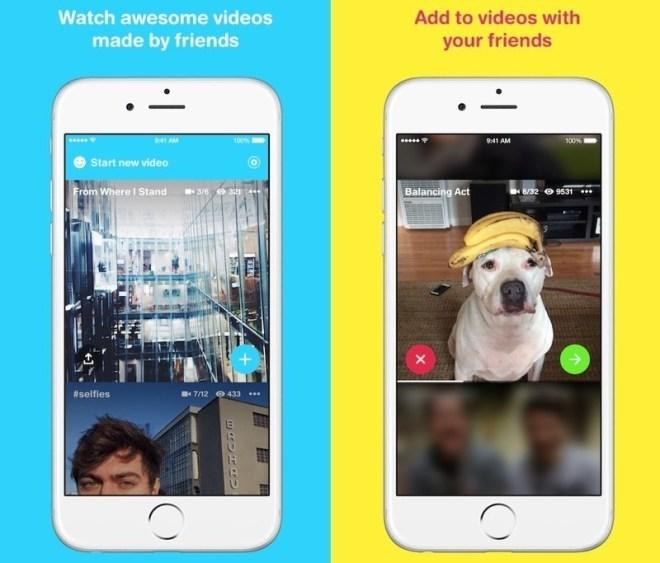 Facebook Riff Video-Apps