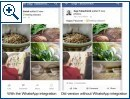 Whatsapp-Button im Facebook-Client