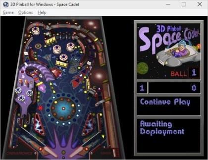 Microsoft 3D Pinball