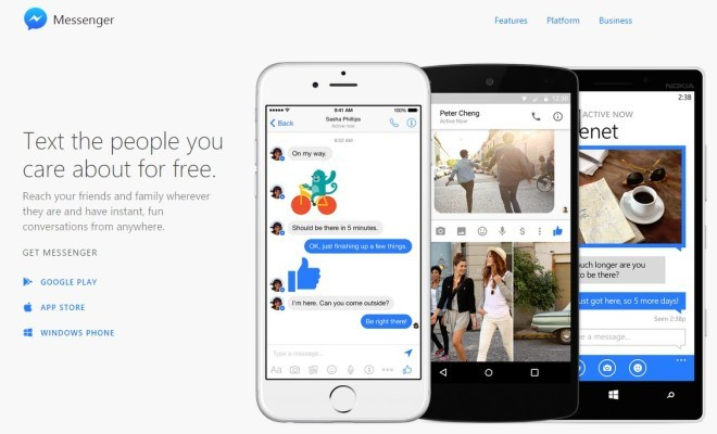 Facebook Messenger als Webseite