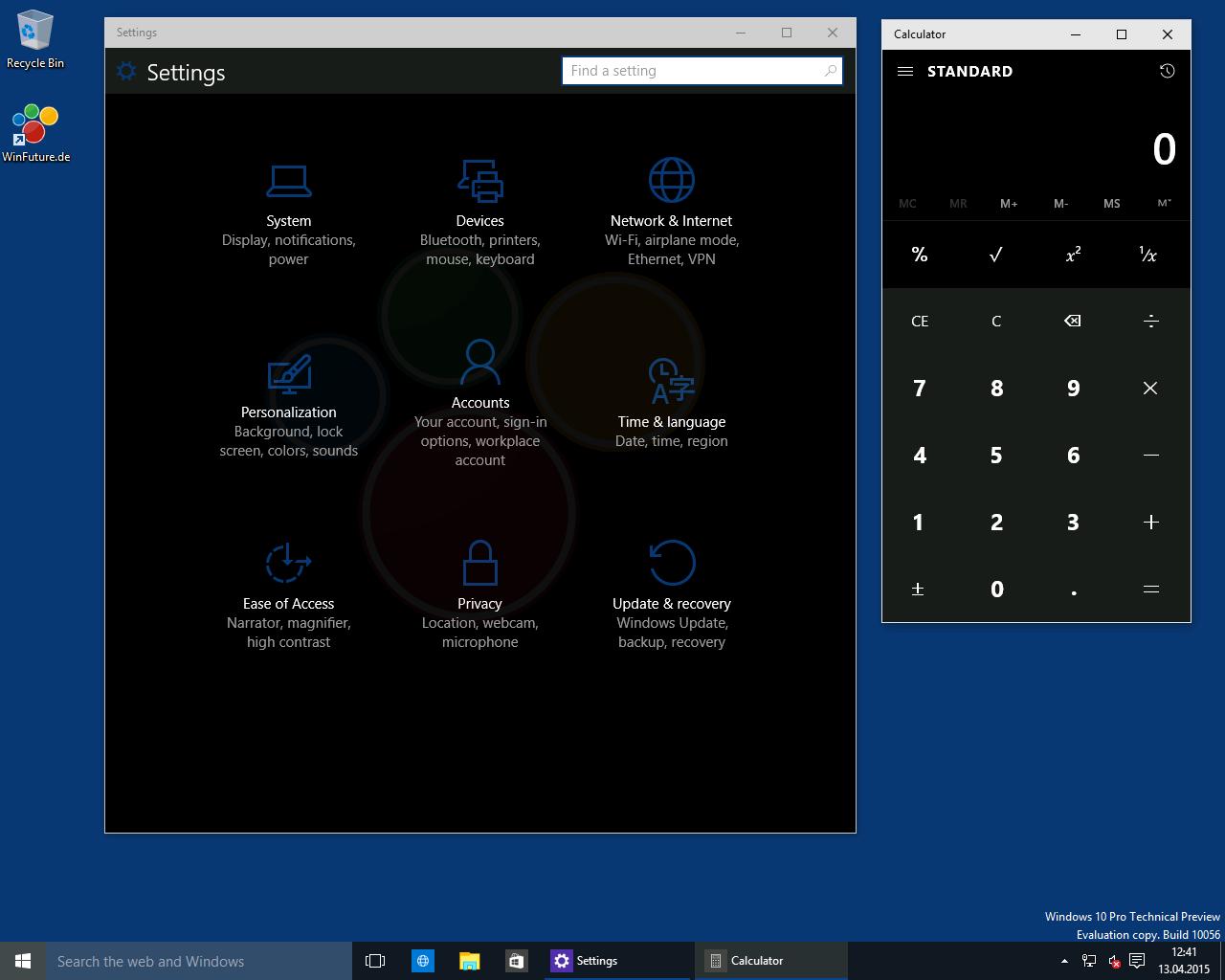 Windows 7 desktop hintergrund schwarz