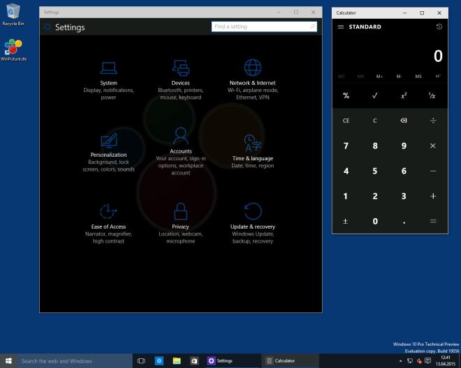 """Windows 10: So aktiviert man den """"Dark Mode"""" in Build 10056"""
