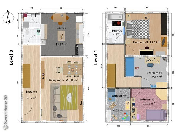 Fußboden Sweet Home 3d ~ Sweet home d kostenloser wohnraumplaner download