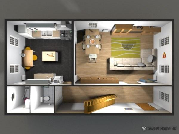 Sweet Home 3d Fußboden Farbe ~ Sweet home 3d kostenloser wohnraumplaner download