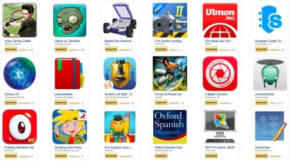 Amazon: Gratis-Apps April 2015