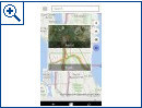 Maps-App in Windows 10 for Phone