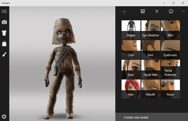 Windows 10: Avatars-App