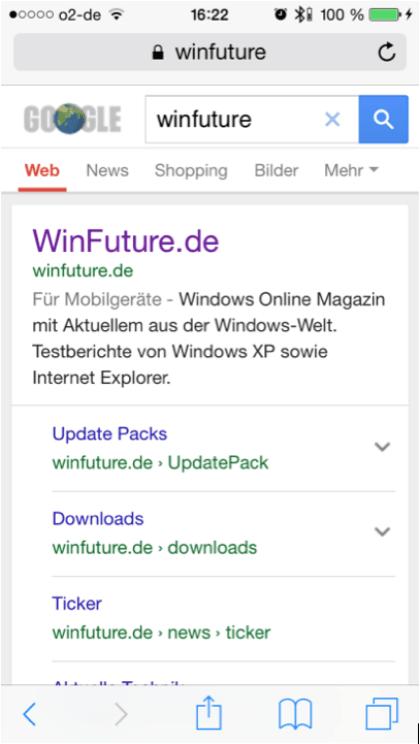 Google: Mobile-SEO