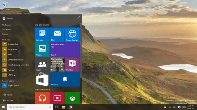 Windows 10 Insider Preview: Das ist neu in der Build 10074