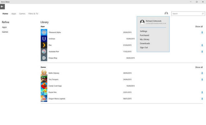 Windows 10: Beta-Store erhält neue Features wie Auto-App-Updates