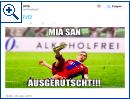 #miasanausgerutscht