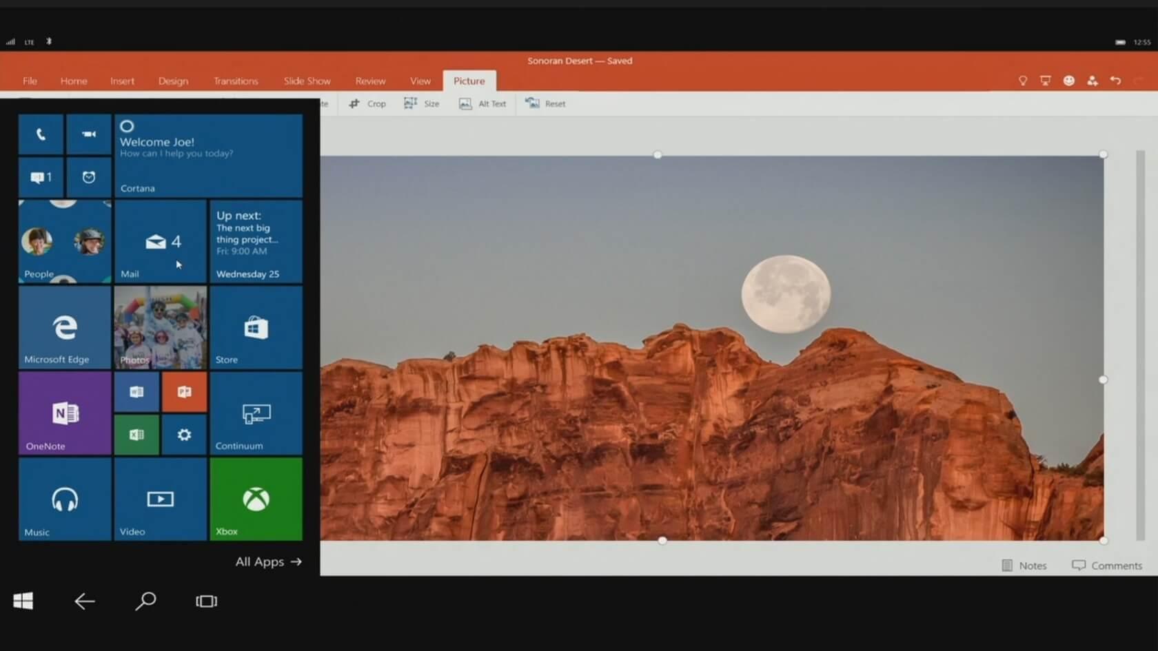 Windows 10: Continuum macht neue Smartphones zum PC-Ersatz