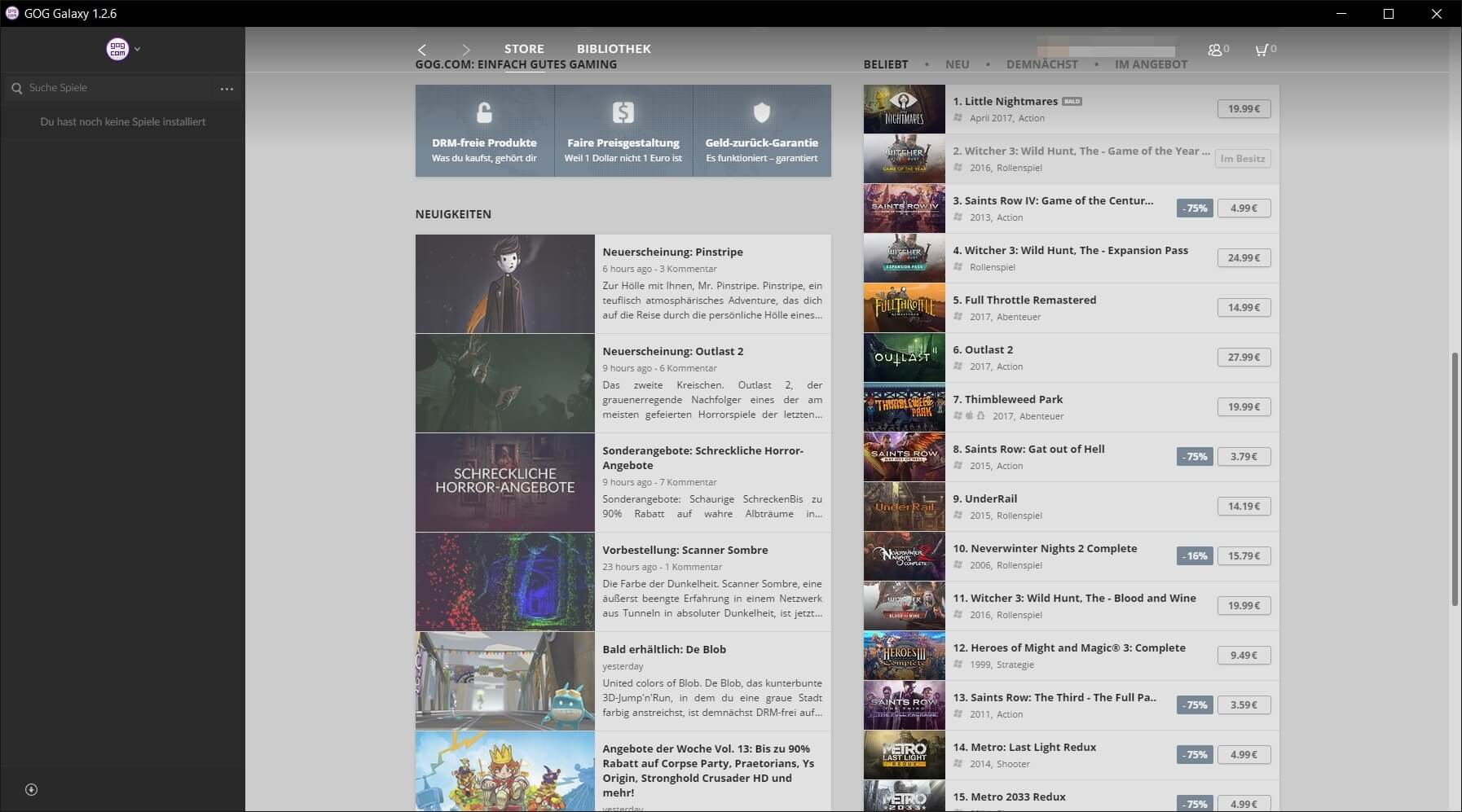 gog galaxy android app