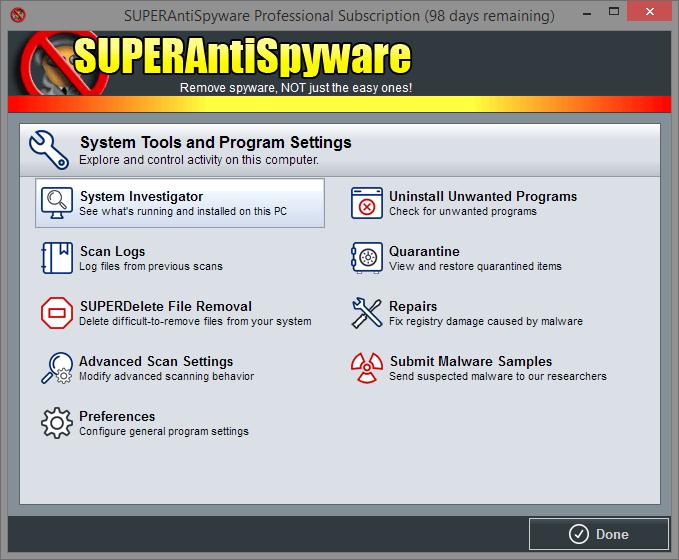 SUPERAntiSpyware