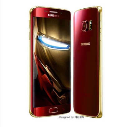 Galaxy S6 Iron Man-Konzept