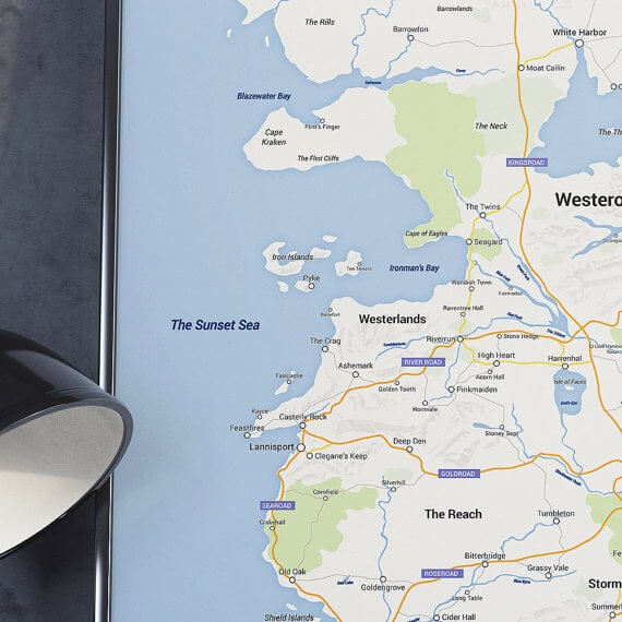 Westeros Karte Interaktiv.Game Of Thrones Westeros Im Google Maps Design Nachgebaut