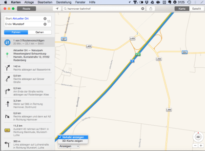 Apple Maps Probleme