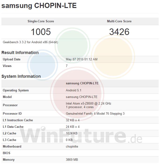 """Samsung """"Chopin"""""""