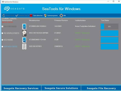 SeaTools f�r Windows