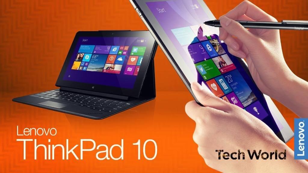 Neues Lenovo ThinkPad 10 mit Windows 10 & Stylus: Surface-Killer?
