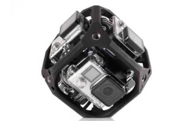 GoPro VR-Würfel-Kamera
