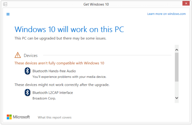 Windows 10 Upgrade-Reservierung