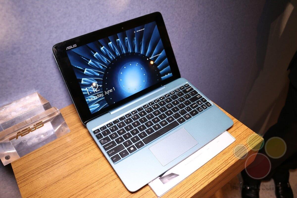 ASUS stellt erstes Tablet mit Windows 10 vor - mit USB Type-C-Port