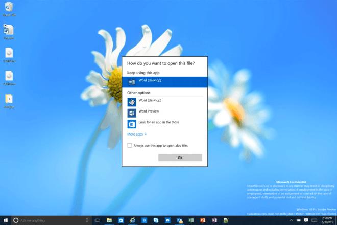 """Windows 10: Microsoft """"leakt"""" mal selbst Bilder von Build 10136"""