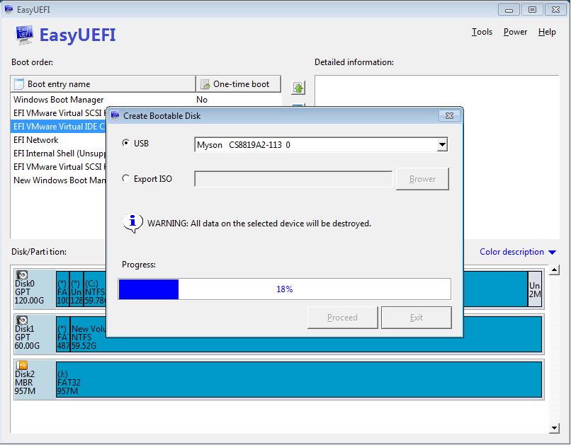 EasyUEFI - EFI/UEFI Boot-Einstellungen verwalten Download