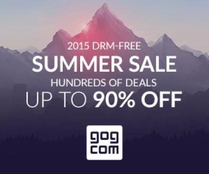 GoG Summer Sale 2015