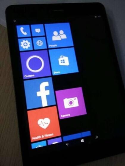 Windows 10 Mobile Tablet mit Rockchip-CPU