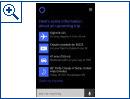 Reisen mit Cortana