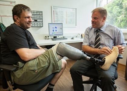 Neu am Bein: Die fühlende Prothese