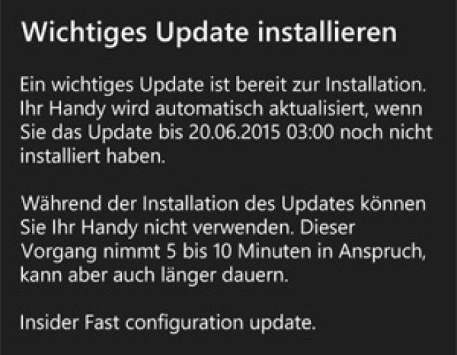 Windows 10 Build 10136 für Smartphones jetzt für Tester erhältlich