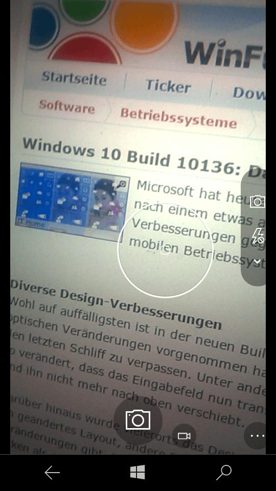Edge-Browser in Mobile-Build 10136 bringt entscheidende Features