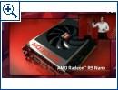 Radeon R9 Fury X und R9 Nano