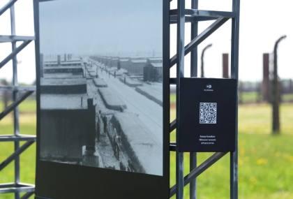 Auschwitz: QR-Code holt Zeitzeugen auf Smartphone