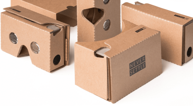 OnePlus Google Cardboard VR-Headset