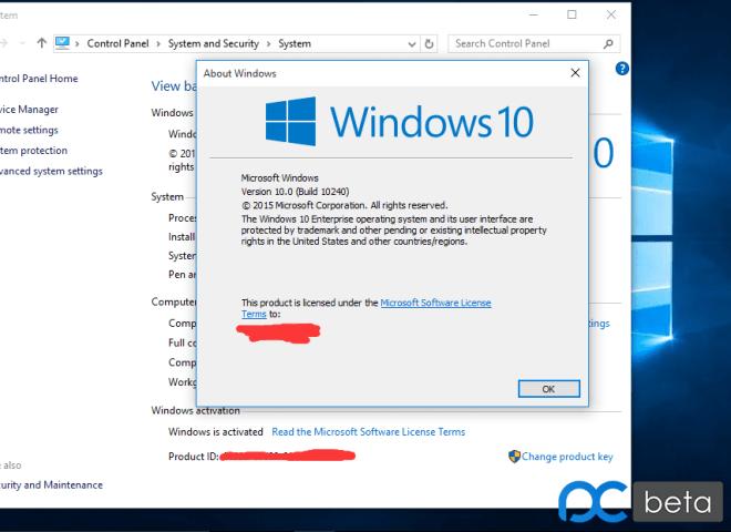 Windows 10 soll mit Build 10240 RTM-Status erreicht haben