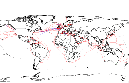 Der Internet-Backbone im Meer