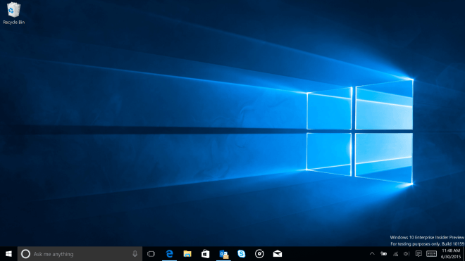 Windows 10 Build 10159 für Insider-Tester - mit neuem Wallpaper