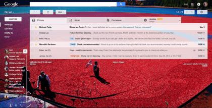 Gmail Themes und Emoji