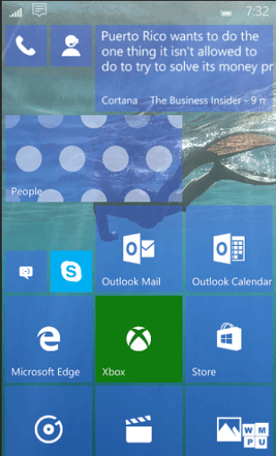 Leak Windows 10 Mobile Build 10158
