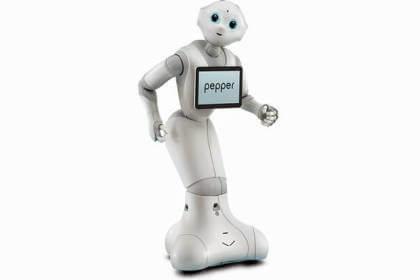 """Der Roboter """"Pepper"""""""