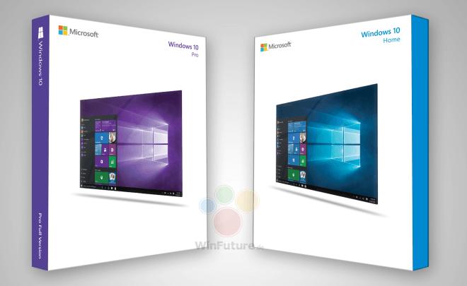 Windows 10 Boxshots
